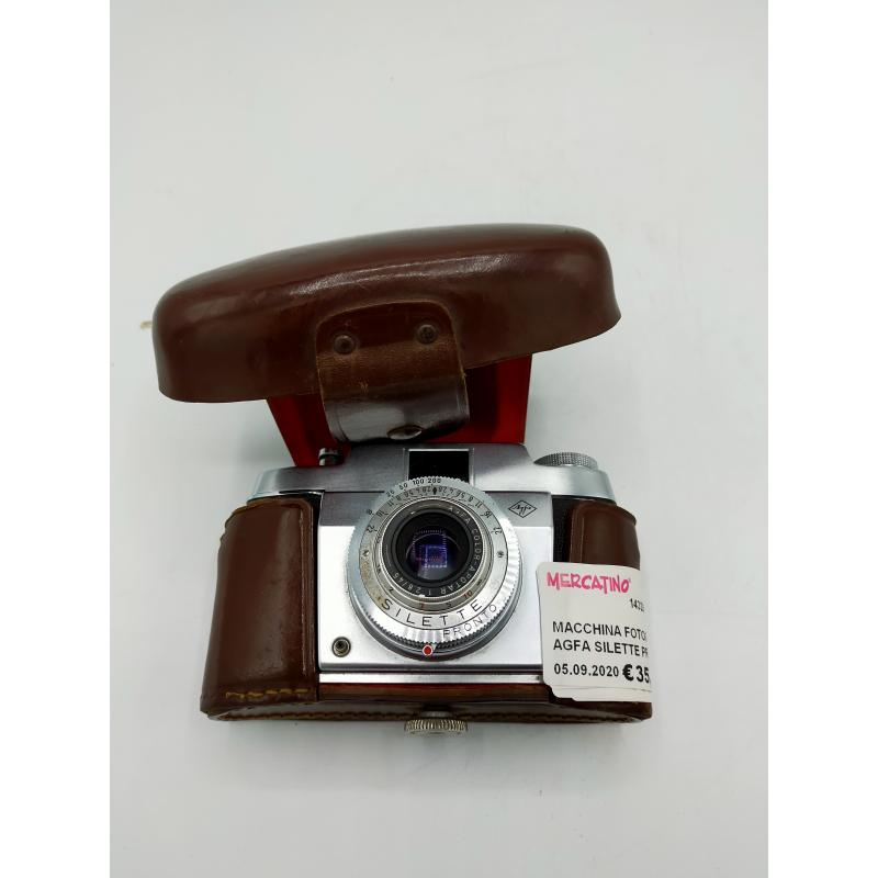 MACCHINA FOTOGRAFICA AGFA SILETTE PRONTO   Mercatino dell'Usato Atripalda 1
