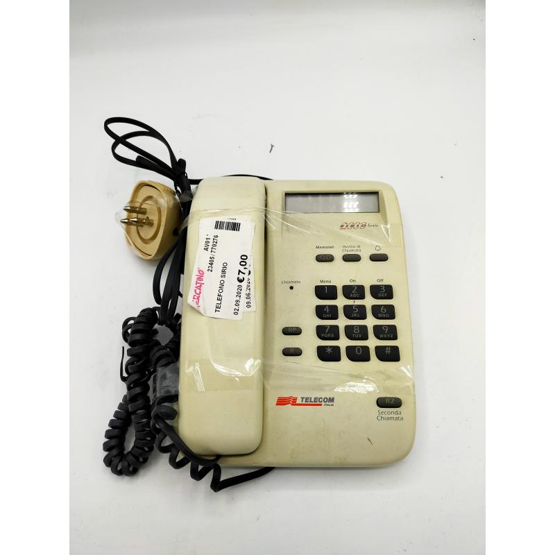 TELEFONO SIRIO   Mercatino dell'Usato Atripalda 1
