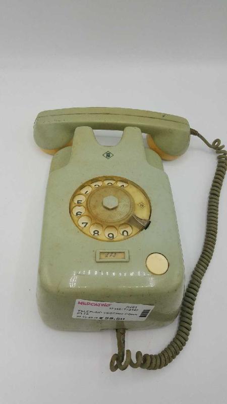 TELEFONO VECCHIO CORNETTA | Mercatino dell'Usato Atripalda 1