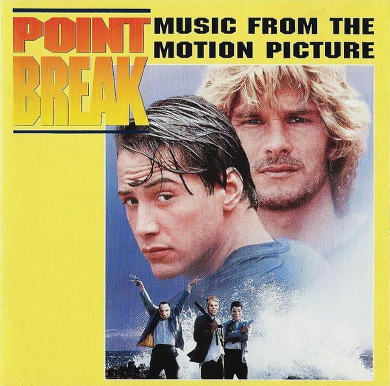VARIOUS - POINT BREAK (MUSIC FROM THE MOTION PICTU   Mercatino dell'Usato Atripalda 1