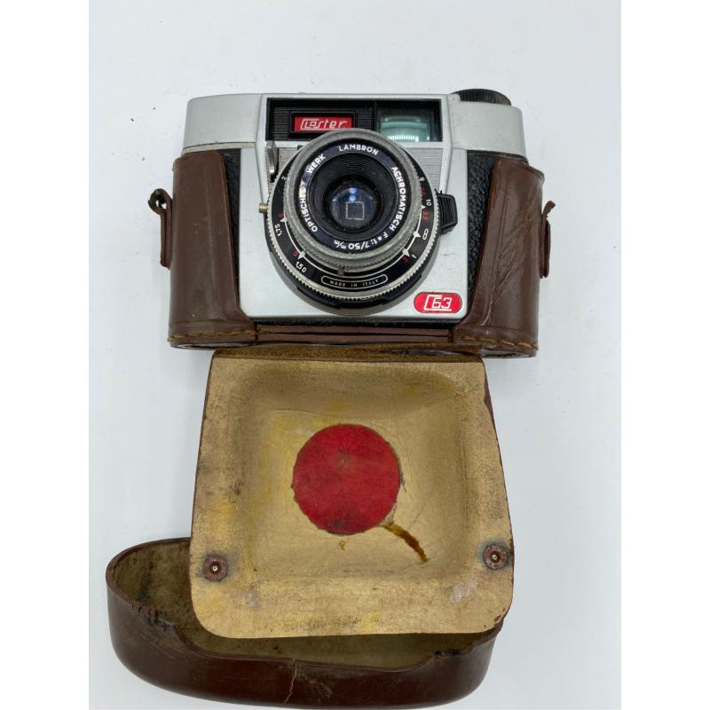 MACCHINA FOTOGRAFICA CLOSTER C 63 CUSTODIA CUOIO  | Mercatino dell'Usato Atripalda 1