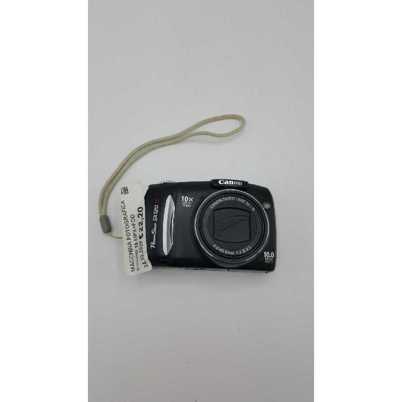 MACCHINA FOTOGRAFICA CANON 10 MPX+FODERO | Mercatino dell'Usato Atripalda 1