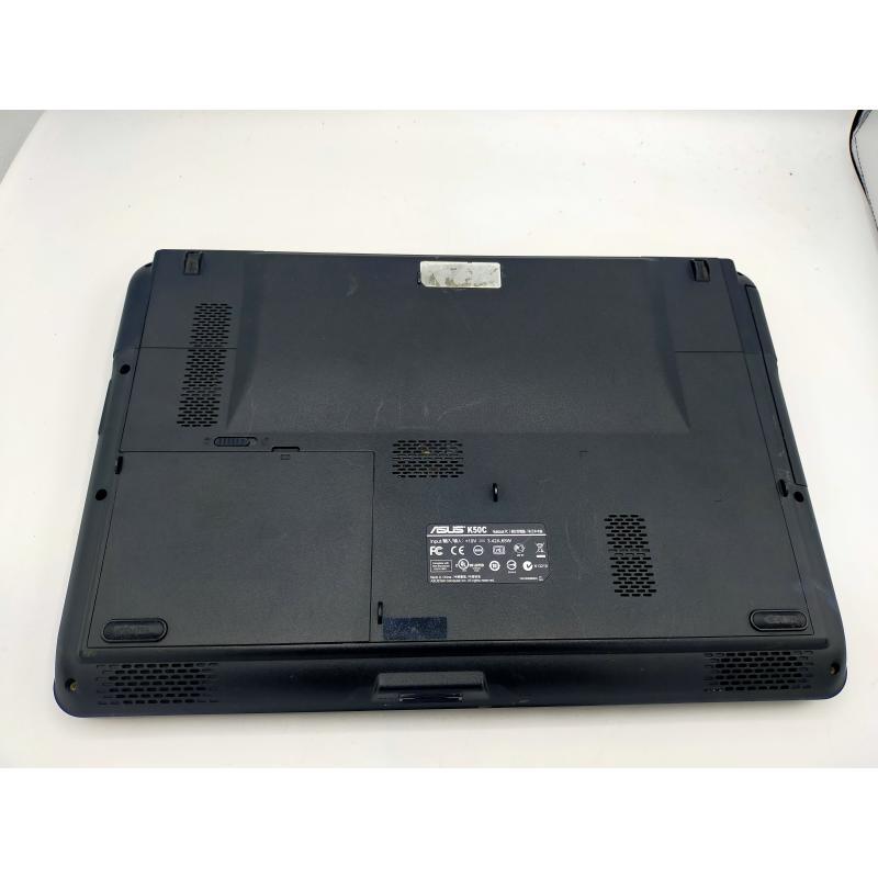 PC PORTATILE ASUS K50C CELERON 1.5 GHZ  RAM2GB HD300GB  NO WEB CAM   Mercatino dell'Usato Atripalda 3