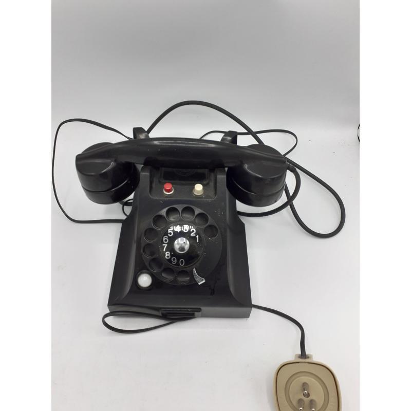 TELEFONO NERO  VECCHIO CON TASTI | Mercatino dell'Usato Atripalda 2