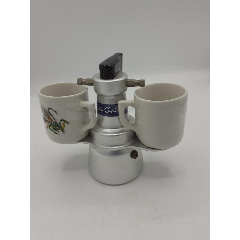 CAFFETTIERA IN TAZZA 2 VECCHIA. | Mercatino dell'Usato Atripalda 1