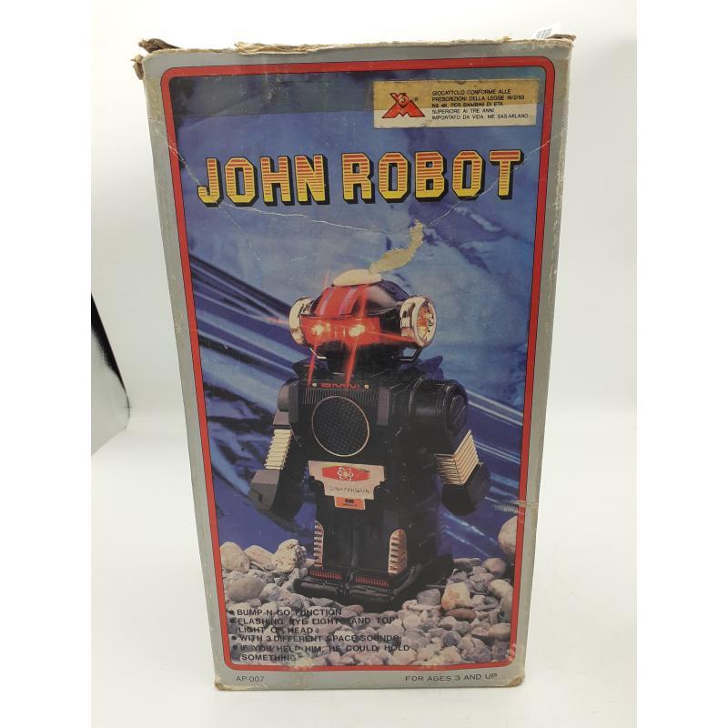 ROBOT JOHN ROBOT ANNI 80   Mercatino dell'Usato Atripalda 1