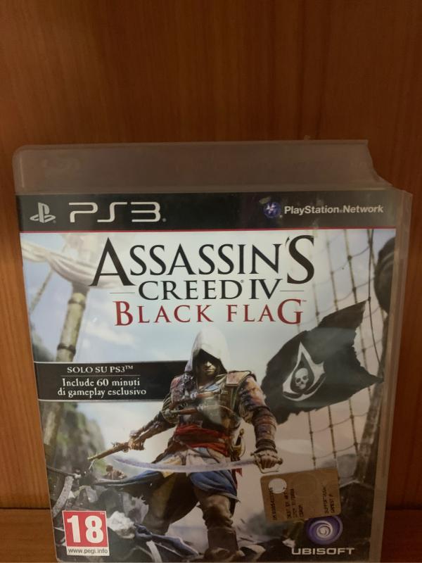 GIOCO PS3 ASSASSIN'S CREED IV BLACK FLAG | Mercatino dell'Usato Bisceglie 1