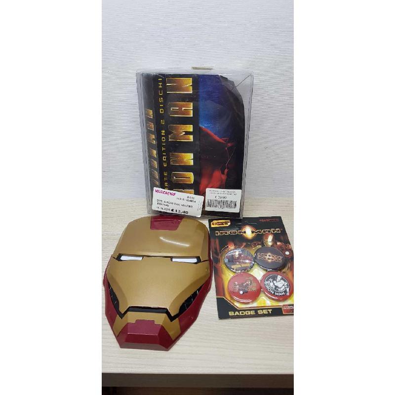 DVD AIRON MAN LIMITED EDITION | Mercatino dell'Usato Bisceglie 1