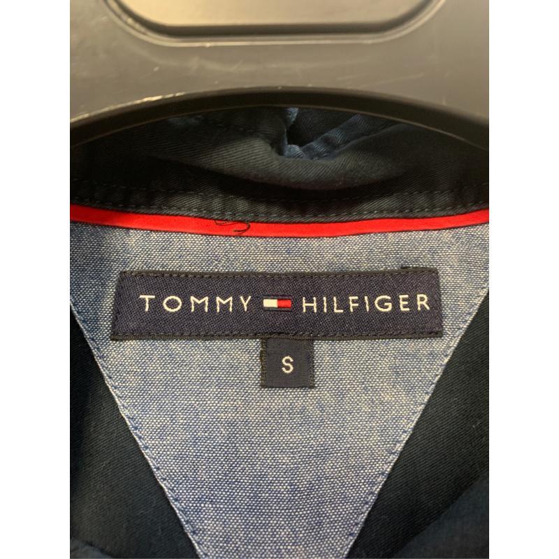 CAMICIA UOMO TOMMY HILFIGER BLU | Mercatino dell'Usato Bisceglie 3