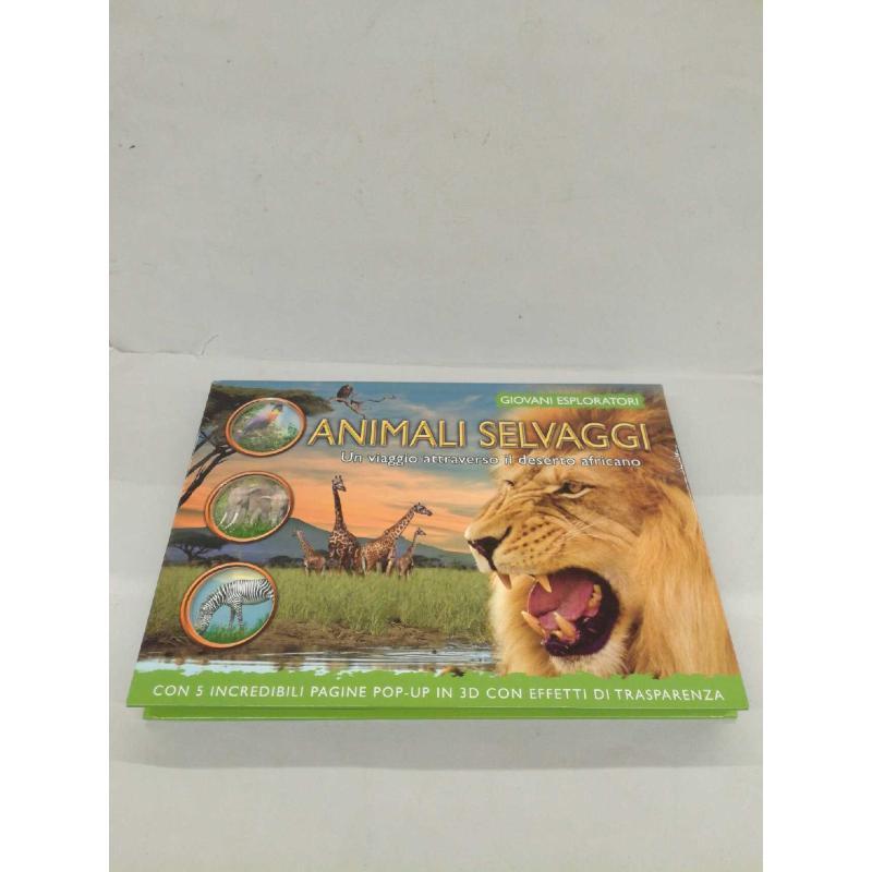 ANIMALI SELVAGGI - LIBRO DA COLORARE - DISEGNI ANI | Mercatino dell'Usato Molfetta 1