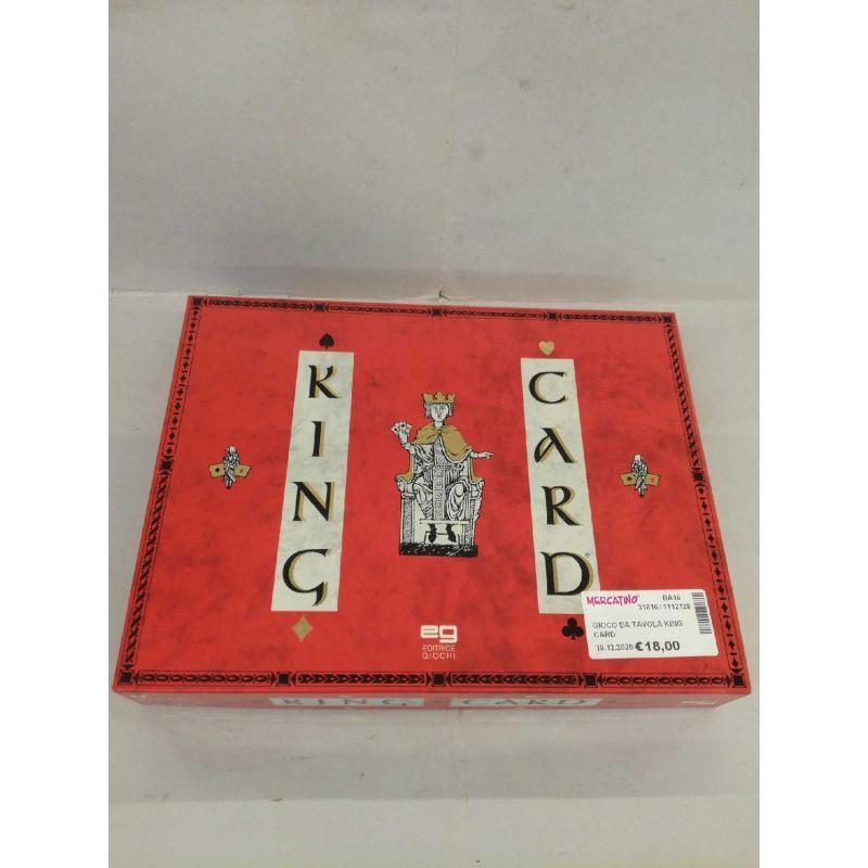 GIOCO DA TAVOLA KING CARD | Mercatino dell'Usato Molfetta 1