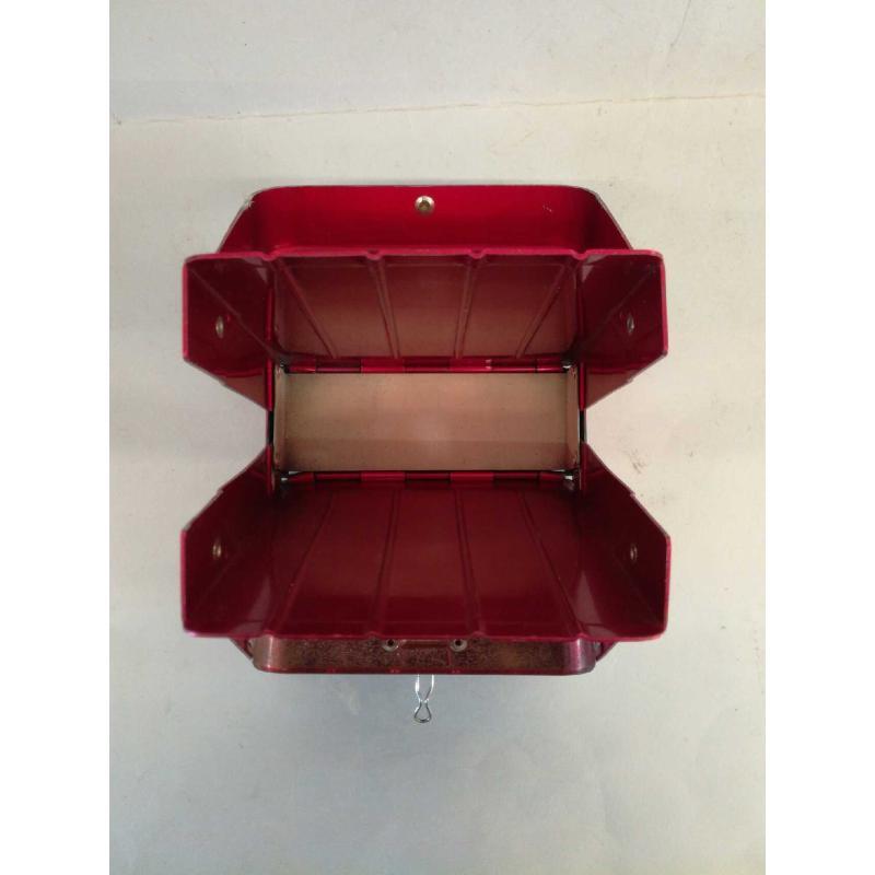 SCHEDARIO ROSSO LATTA RESISTO 1947-1-17 DIM. H. 5.5 X 20 CM X 20 CM | Mercatino dell'Usato Molfetta 2