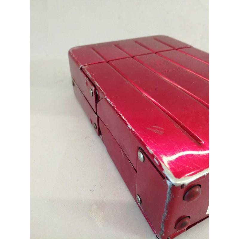 SCHEDARIO ROSSO LATTA RESISTO 1947-1-17 DIM. H. 5.5 X 20 CM X 20 CM | Mercatino dell'Usato Molfetta 4