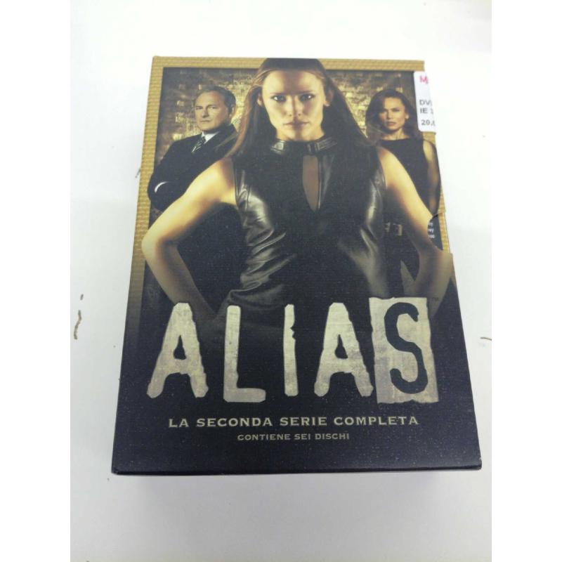 DVD ALIAS SECONDA SERIE 3X2 | Mercatino dell'Usato Molfetta 1