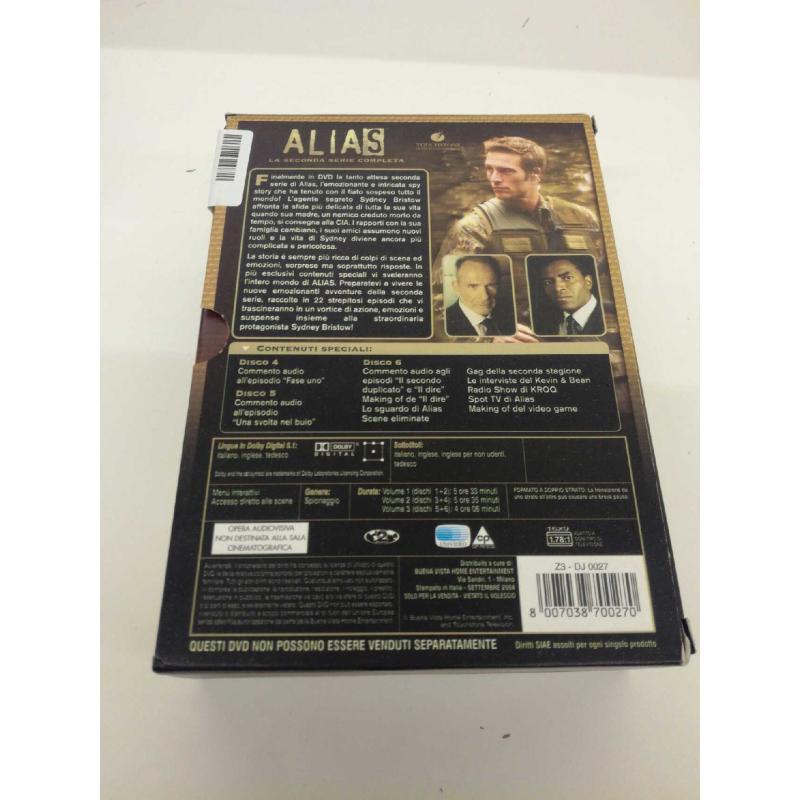 DVD ALIAS SECONDA SERIE 3X2 | Mercatino dell'Usato Molfetta 3