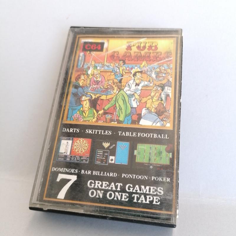 GIOCO COMMODORE C64 PUB GAMES | Mercatino dell'Usato Molfetta 1