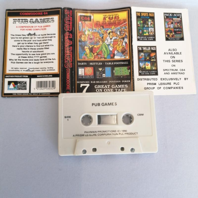 GIOCO COMMODORE C64 PUB GAMES | Mercatino dell'Usato Molfetta 2