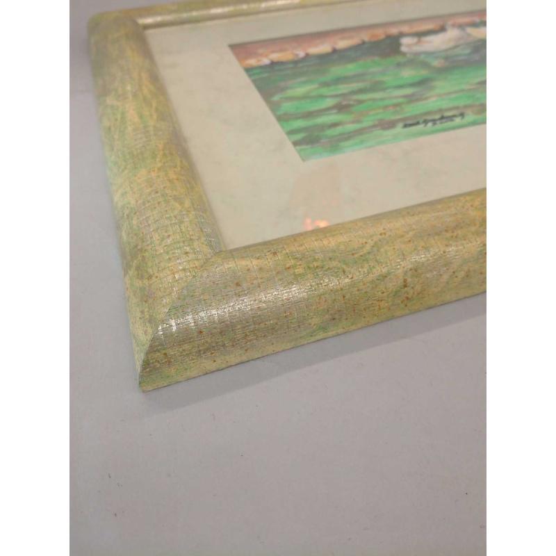 QUADRO CIGNI NEL LAGO 2002  | Mercatino dell'Usato Molfetta 2