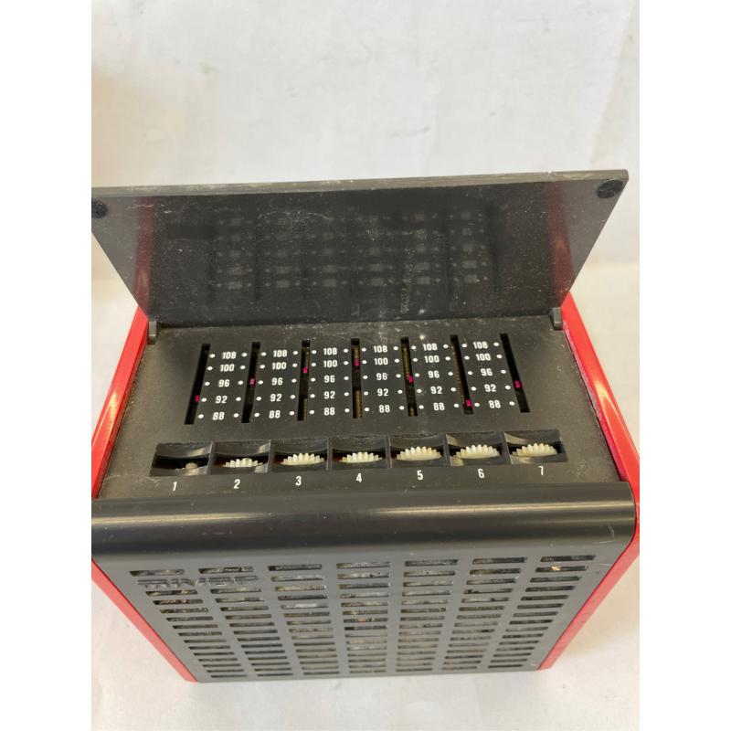 RADIO MIVAR CUBO ROSSO MOD R 571 VAR VINTAGE | Mercatino dell'Usato Molfetta 4