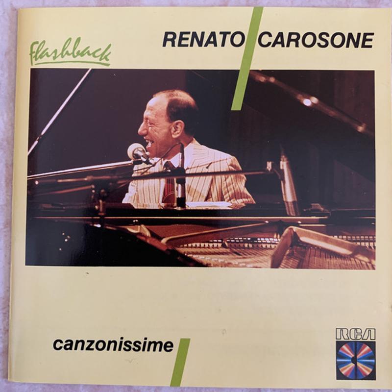 RENATO CAROSONE - CANZONISSIME   Mercatino dell'Usato Molfetta 1