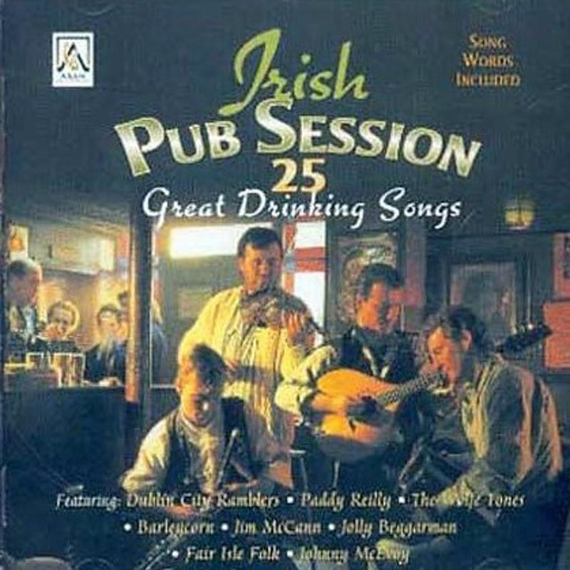 VARIOUS - IRISH PUB SESSION 25 GREAT DRINKING SONG   Mercatino dell'Usato Molfetta 1