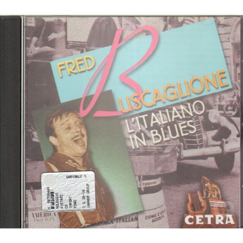 FRED BUSCAGLIONE - L'ITALIANO IN BLUES   Mercatino dell'Usato Bologna 1