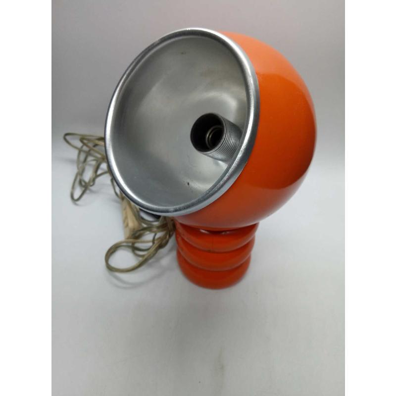 LAMPADA METALLO ARANCIONE PALLA | Mercatino dell'Usato Quartu sant'elena 3