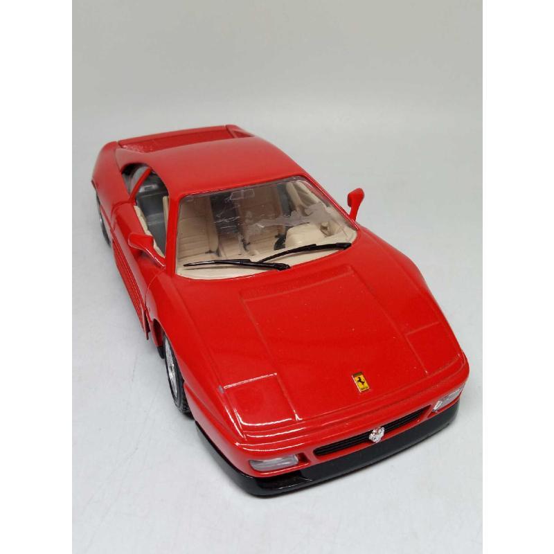 MODELLINO AUTO BURAGO FERRARI 348 TB (1989) 1/24 | Mercatino dell'Usato Quartu sant'elena 1