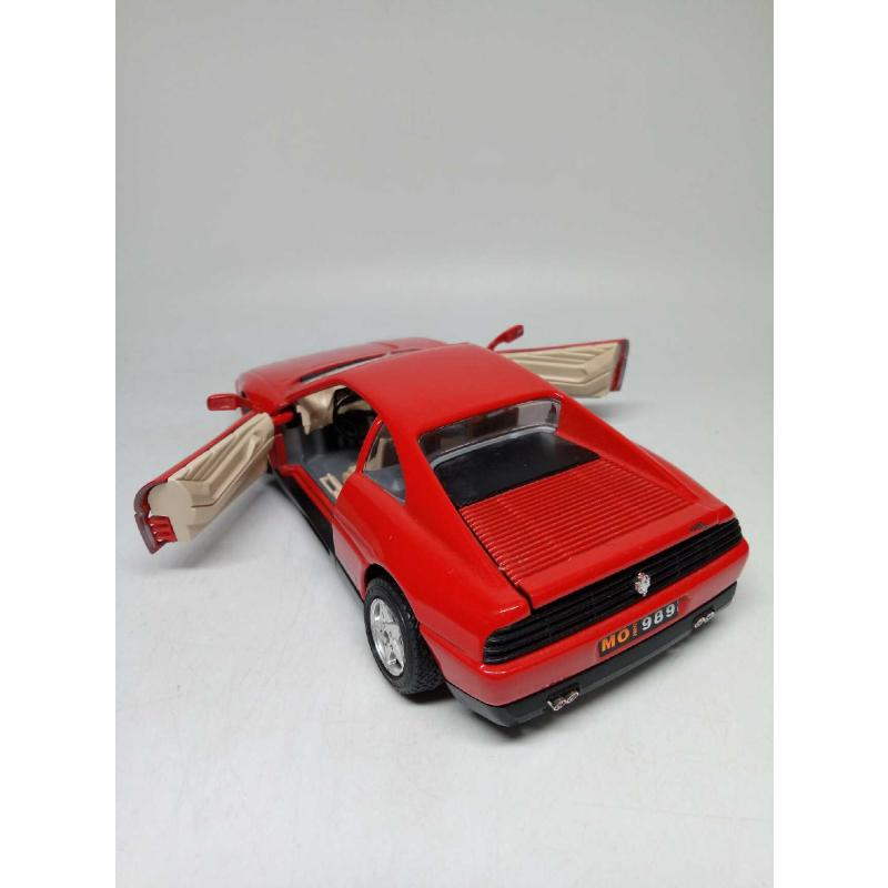 MODELLINO AUTO BURAGO FERRARI 348 TB (1989) 1/24 | Mercatino dell'Usato Quartu sant'elena 2