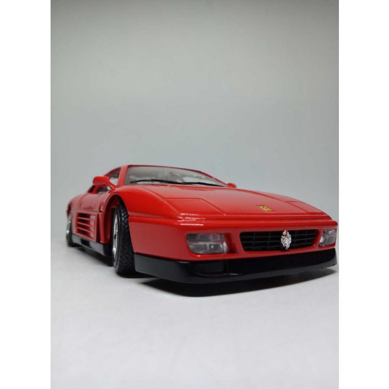 MODELLINO AUTO BURAGO FERRARI 348 TB (1989) 1/24 | Mercatino dell'Usato Quartu sant'elena 3