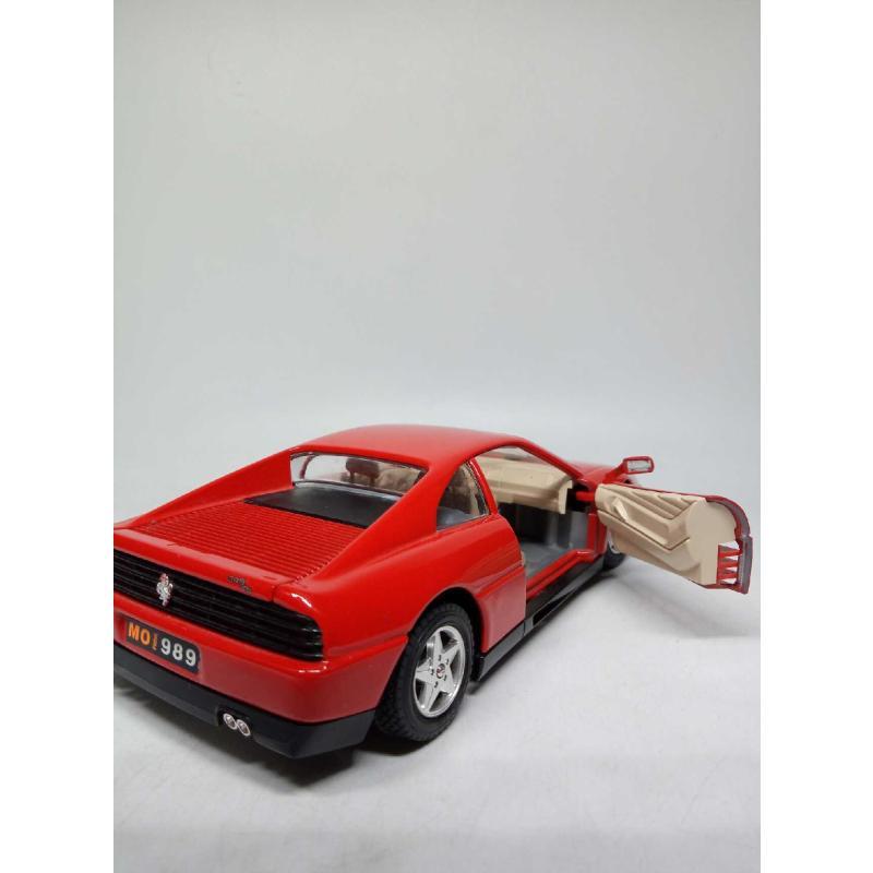 MODELLINO AUTO BURAGO FERRARI 348 TB (1989) 1/24 | Mercatino dell'Usato Quartu sant'elena 5