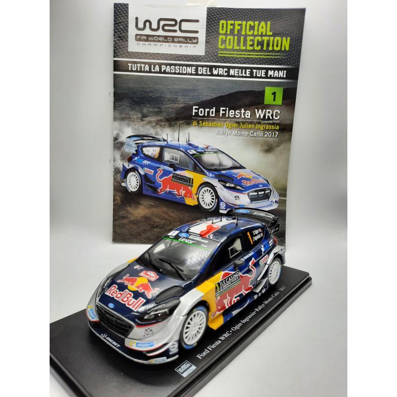MODELLINO AUTO  FORD FIESTA WRC MONTE CARLO 2017 1/24 HACHETTE + FASCICOLO   Mercatino dell'Usato Quartu sant'elena 1