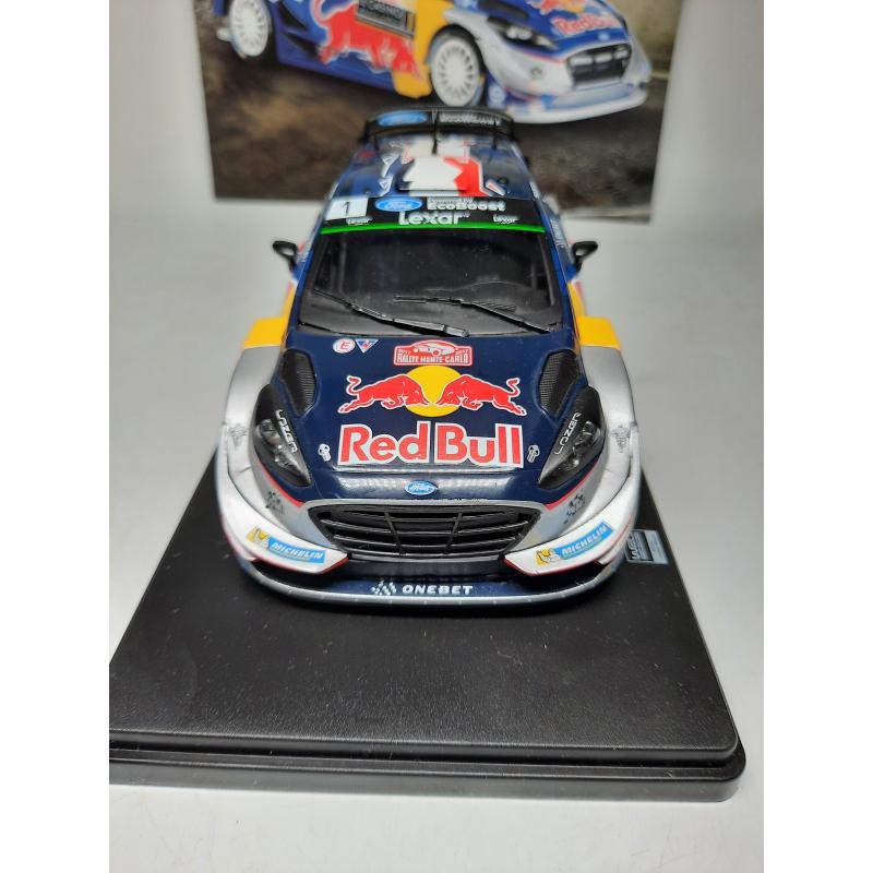 MODELLINO AUTO  FORD FIESTA WRC MONTE CARLO 2017 1/24 HACHETTE + FASCICOLO   Mercatino dell'Usato Quartu sant'elena 2