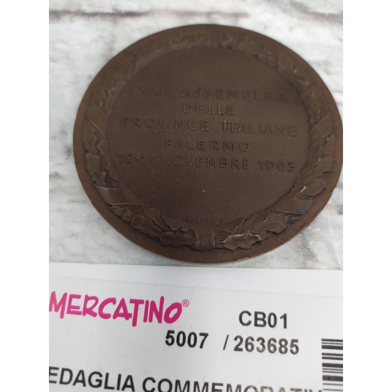 MEDAGLIA COMMEMORATIVA PROVINCIA PALERMO | Mercatino dell'Usato Campobasso 2