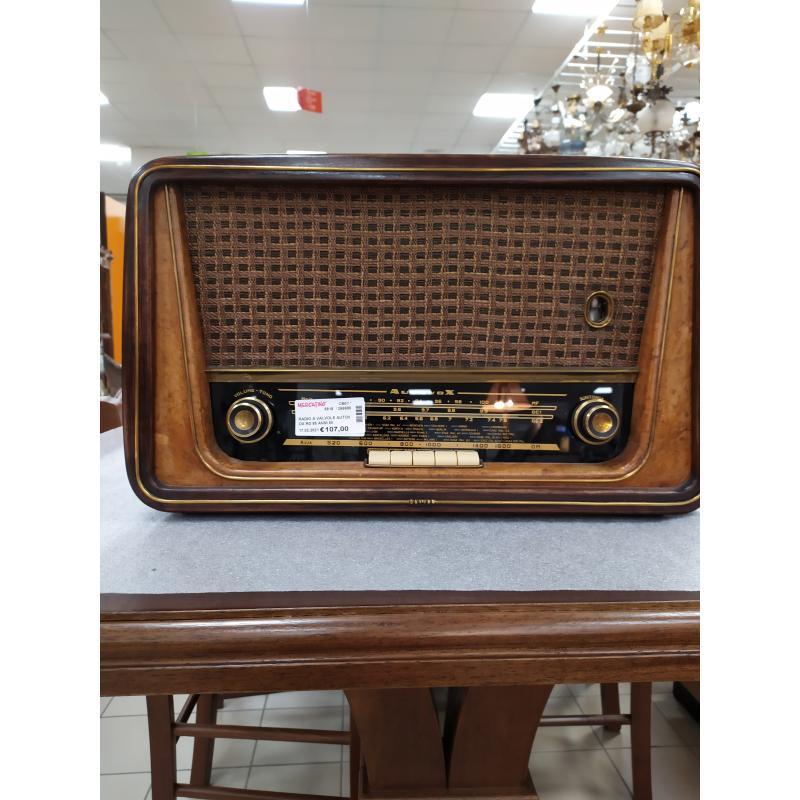 RADIO A VALVOLE AUTOVOX RD 85 ANNI 50 | Mercatino dell'Usato Campobasso 1