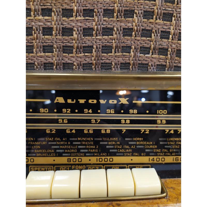RADIO A VALVOLE AUTOVOX RD 85 ANNI 50 | Mercatino dell'Usato Campobasso 2