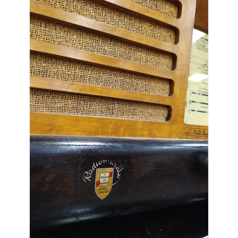 RADIO A VALVOLE RADIOMARELLI NILO BIANCO    Mercatino dell'Usato Campobasso 2