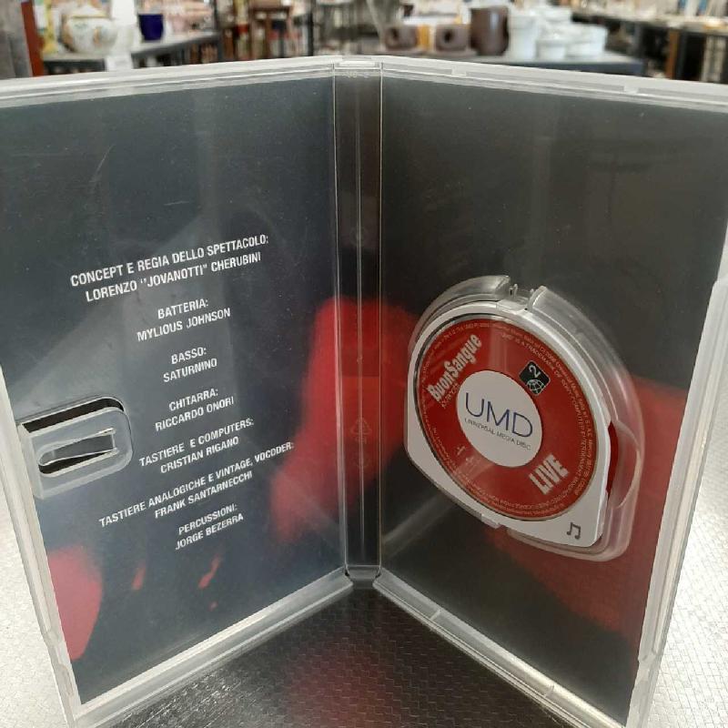 UMD MUSIC PSP JOVANOTTI BUON SANGUE | Mercatino dell'Usato San giovanni teatino 2