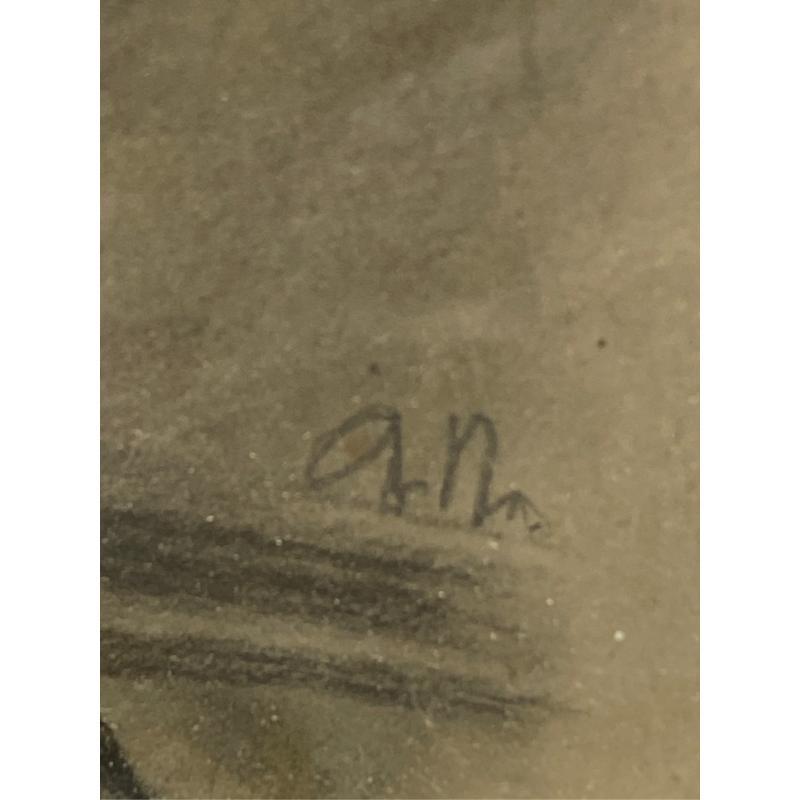 DISEGNO DAMA 40X35CM MATITA | Mercatino dell'Usato San giovanni teatino 4