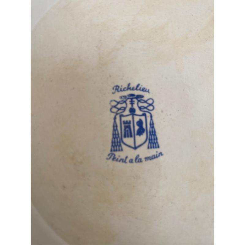 CESTINO CERAMICA FRANCESE RICHELIEU 19X8.5 CM   Mercatino dell'Usato San giovanni teatino 2