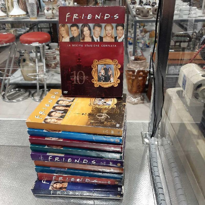 DVD FRIENDS SERIE COMPLETA STAGIONI 1-10 | Mercatino dell'Usato San giovanni teatino 1