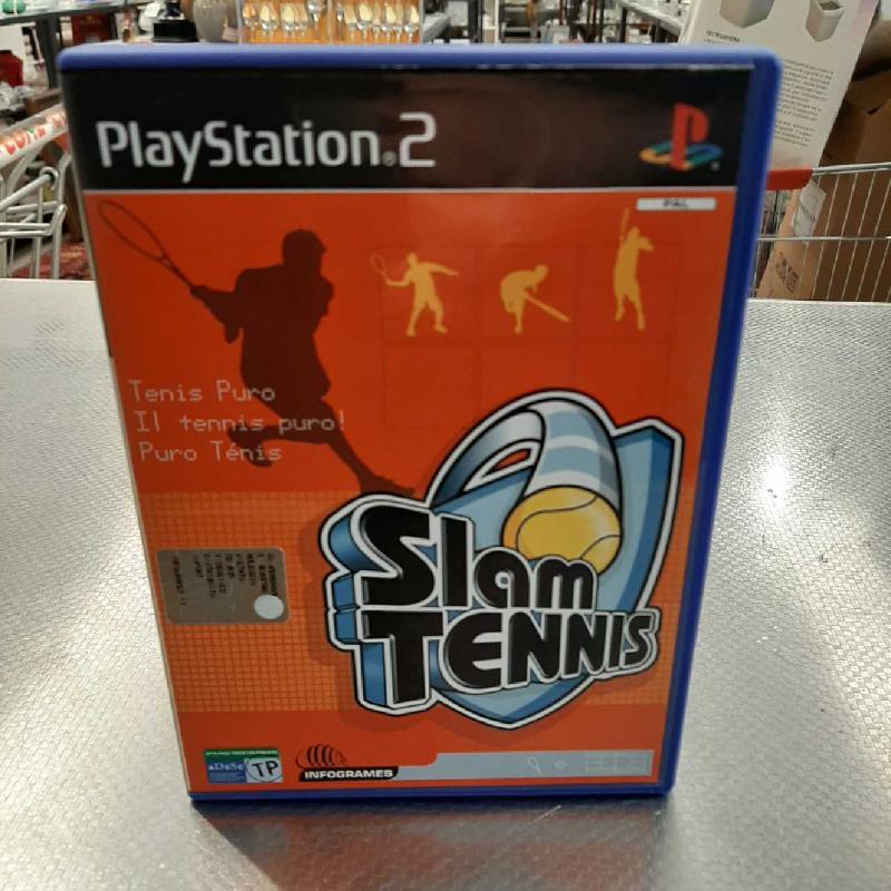 GIOCO PS2 SLAM TENNIS   Mercatino dell'Usato San giovanni teatino 1