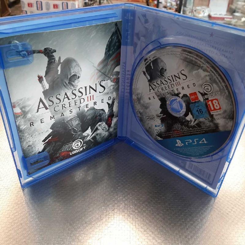 GIOCO PS4 ASSASSIN'S CREED III REMASTERED   Mercatino dell'Usato San giovanni teatino 2