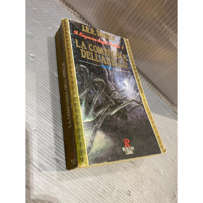 LIBRO IL SIGNORE DEGLI ANELLI LA COMPAGNIA DELL'ANELLO RUSCONI LIBRI 1993 SECONDA EDIZIONE | Mercatino dell'Usato San giovanni teatino 2