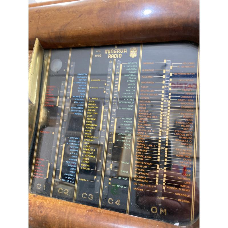 RADIO VINTAGE MINERVA TIPO 495/3 DA REVISIONARE   Mercatino dell'Usato San giovanni teatino 2