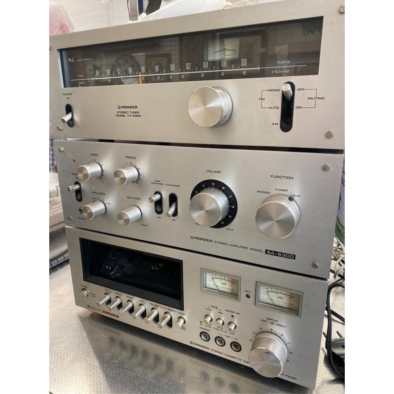 STEREO PIONEER AMPLI SA-6300 SINTO TX-5300 REGISTRATORE CT-F2121 | Mercatino dell'Usato San giovanni teatino 1