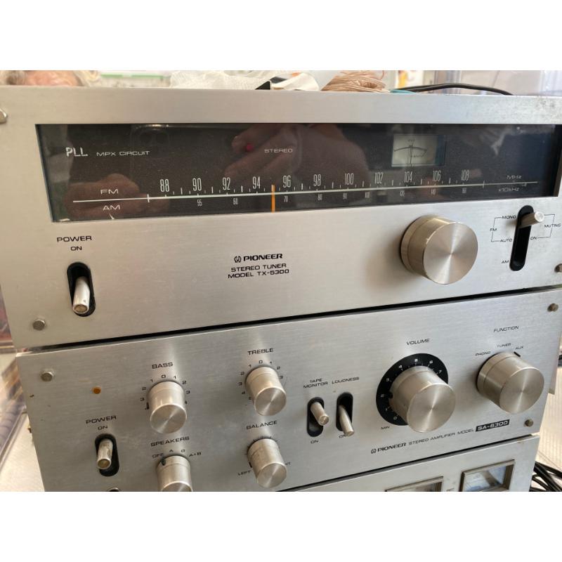 STEREO PIONEER AMPLI SA-6300 SINTO TX-5300 REGISTRATORE CT-F2121 | Mercatino dell'Usato San giovanni teatino 3