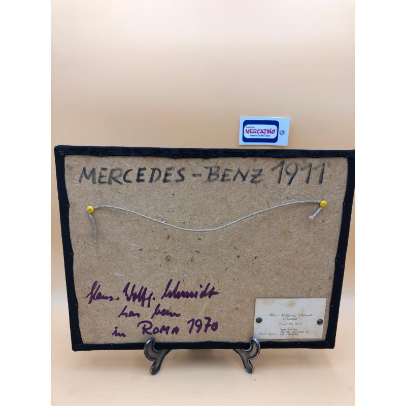 QUADRETTO HANS WOLFGANG SCHMIDT MERCEDES BENZ 1911 | Mercatino dell'Usato Bra 2