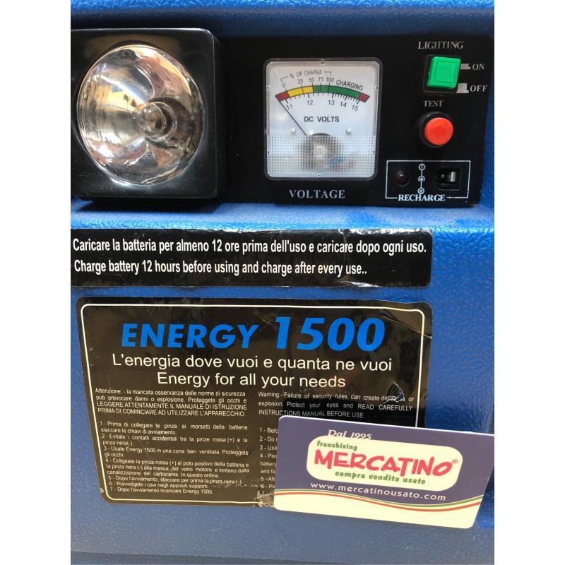 CARICA BATTERIA AWELCO  AUTO D'EMERGENZA ENERGY 1500 | Mercatino dell'Usato Bra 3