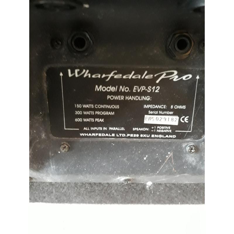 CASSE ATTIVE WHARFEDALE PRO - EVP-X15 MKII | Mercatino dell'Usato Catanzaro 5